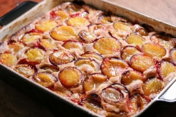 Ofemfrischer Zwetschgenkuchen
