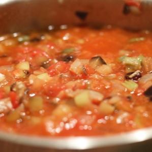 Caponata, frisch gekocht ein Genuss!