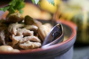 Zürcher Kalbsgeschnetzeltes... eine alpenländliche Köstlichkeit ©Michael Stricker